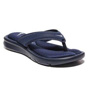 Nike Black Ultra Comfort Sandals Size 6